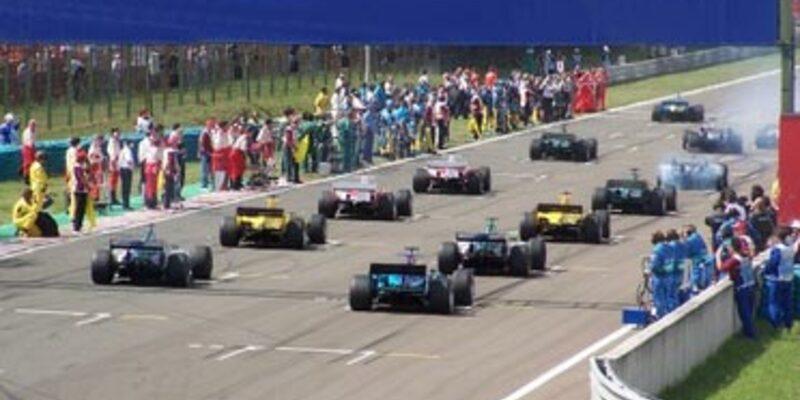 Formel1 Startbeginn - Foto: Fotolia.com / cachou34