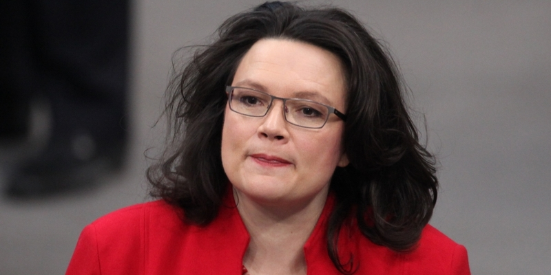 Andrea Nahles - Foto: über dts Nachrichtenagentur