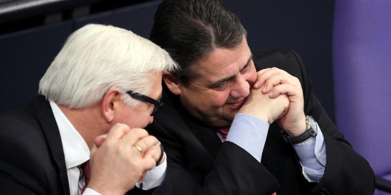 Frank-Walter Steinmeier und Sigmar Gabriel - Foto: über dts Nachrichtenagentur