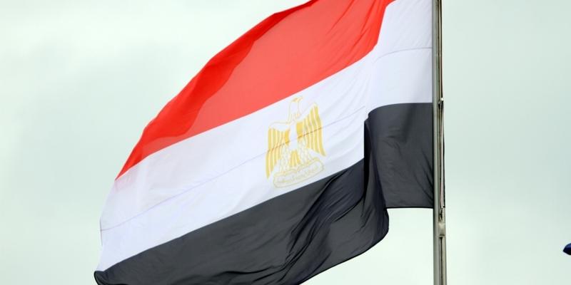 """Ã""""gyptische Flagge - Foto: über dts Nachrichtenagentur"""