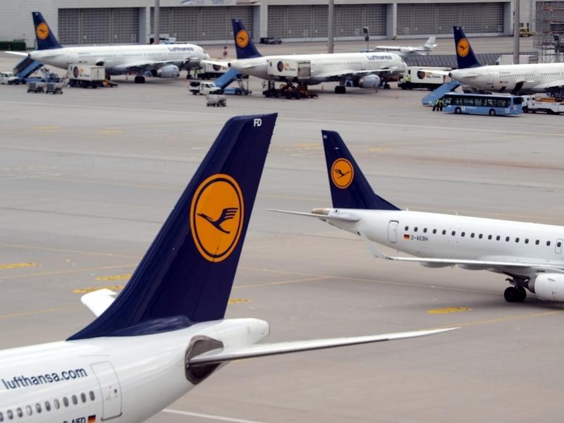 Lufthansa-Maschinen am Flughafen - Foto: über dts Nachrichtenagentur