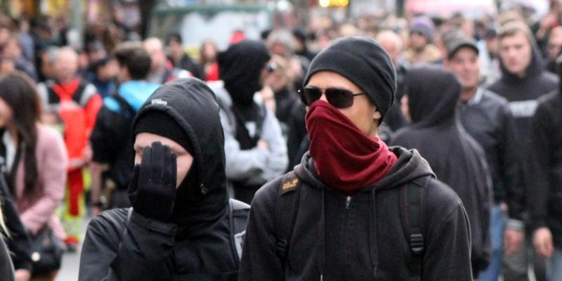 Linksextremisten aus dem Schwarzen Block - Foto: über dts Nachrichtenagentur