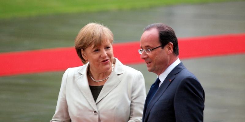 François Hollande und Angela Merkel - Foto: über dts Nachrichtenagentur
