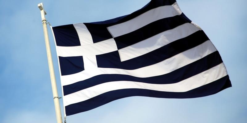 Griechische Fahne - Foto: über dts Nachrichtenagentur