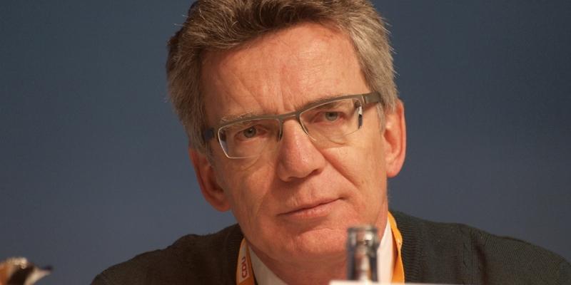 Thomas de Maizière - Foto: über dts Nachrichtenagentur