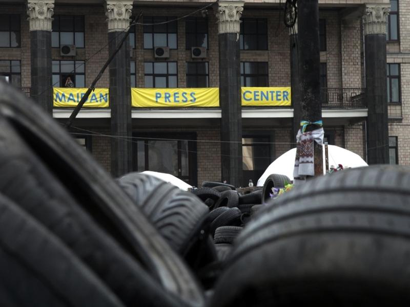 Maidan Press Center - Foto: über dts Nachrichtenagentur