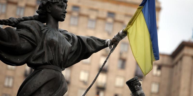 Flagge der Ukraine - Foto: über dts Nachrichtenagentur