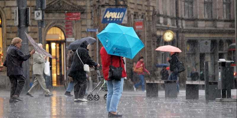 Regen und Wind - Foto: über dts Nachrichtenagentur
