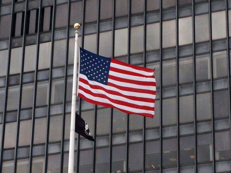 US-Flagge - Foto: über dts Nachrichtenagentur