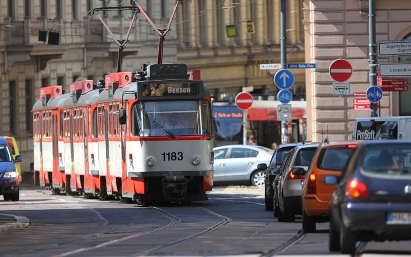Joliot-Curie-Platz in Halle - Foto: über dts Nachrichtenagentur