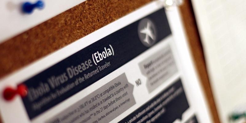 Ebola-Hinweisplakat - Foto: über dts Nachrichtenagentur