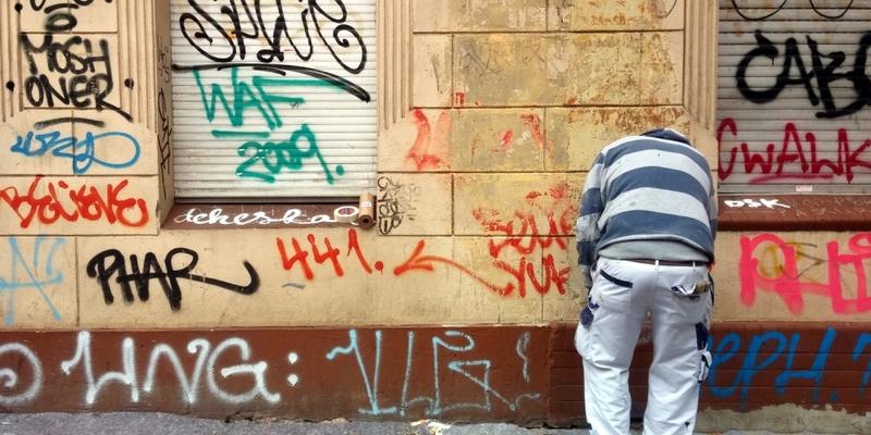 Graffiti-Entfernung - Foto: über dts Nachrichtenagentur