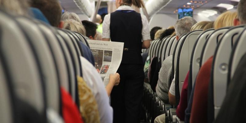 Flugbegleiterin - Foto: über dts Nachrichtenagentur