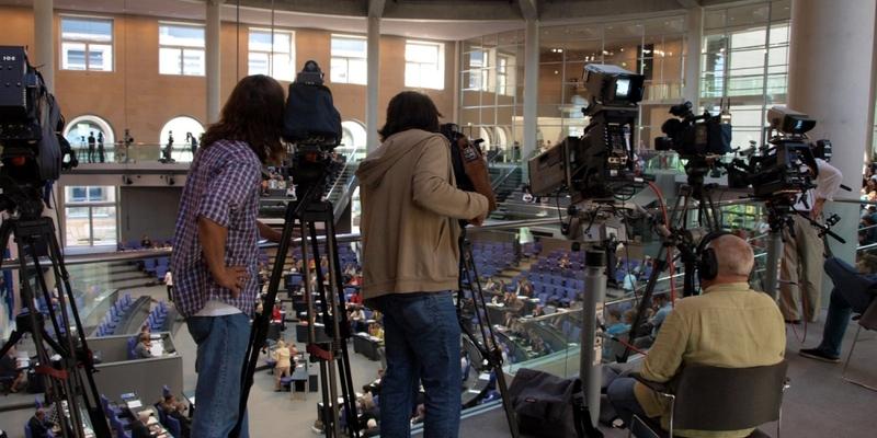 Journalisten im Bundestag - Foto: über dts Nachrichtenagentur