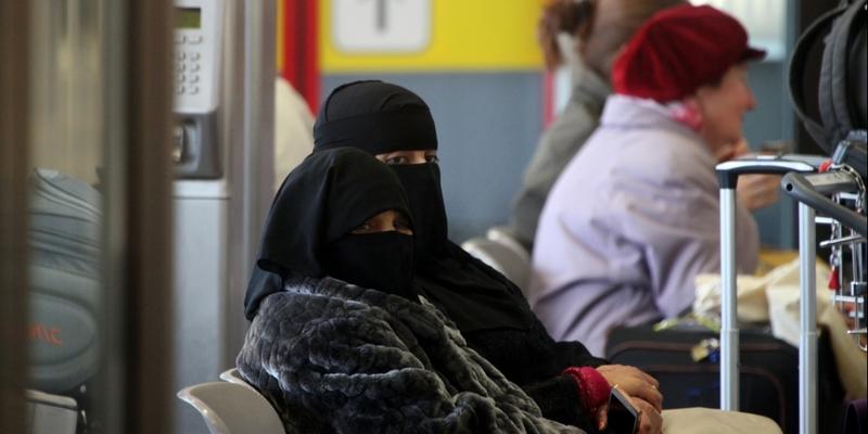 Vollverschleierte Frauen - Foto: über dts Nachrichtenagentur