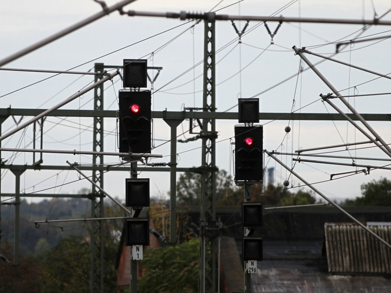 Signalleuchten der Deutschen Bahn - Foto: über dts Nachrichtenagentur