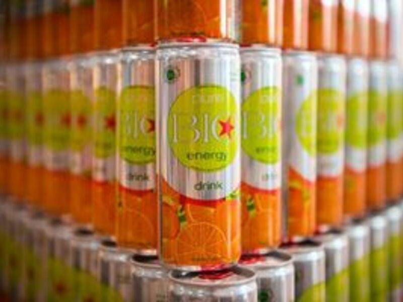 Energiespender Made in Austria weltweit erster Bio-Energy-Drink mit JAS-Öko-Zertifikat - Foto: pressetext.service, pressetext.de