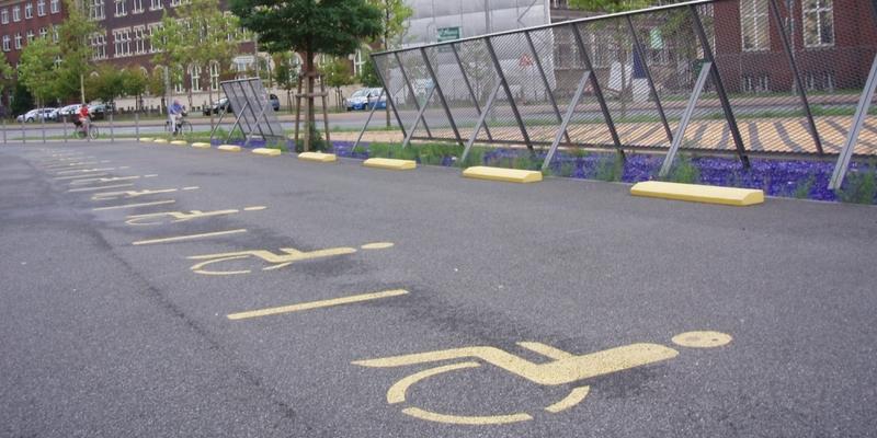 Behindertenparkplatz - Foto: über dts Nachrichtenagentur