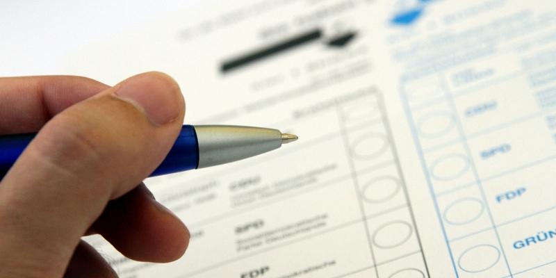 Stimmzettel für die Bundestagswahl - Foto: über dts Nachrichtenagentur
