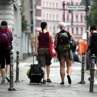 Touristen in Berlin-Kreuzberg - Foto: über dts Nachrichtenagentur
