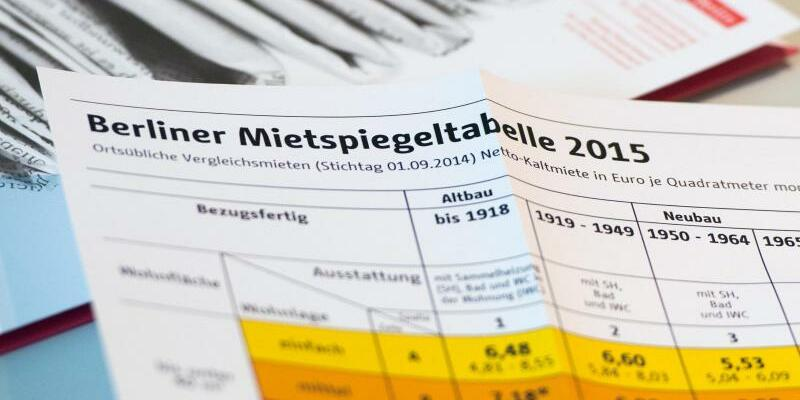 Mietspiegel 2015 für Berlin - Foto: Soeren Stache