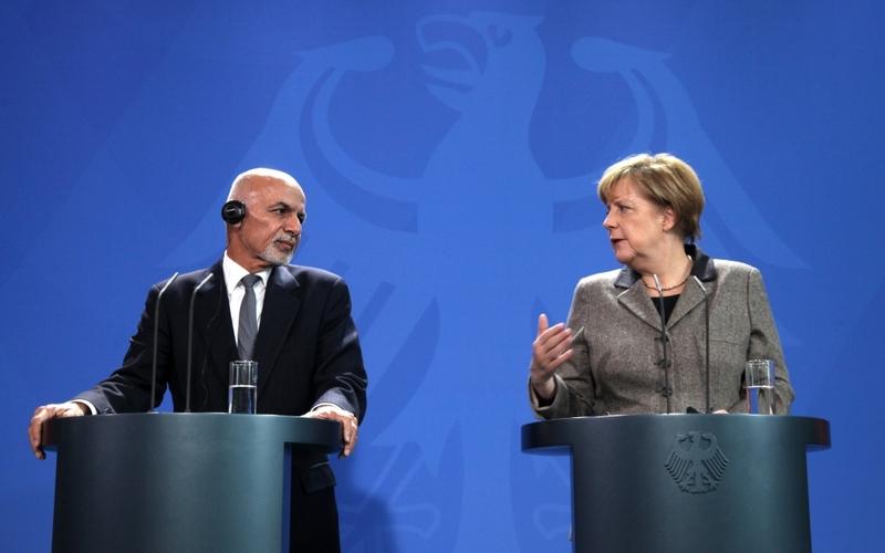 Ashraf Ghani am 02.12.2015 in Berlin - Foto: über dts Nachrichtenagentur