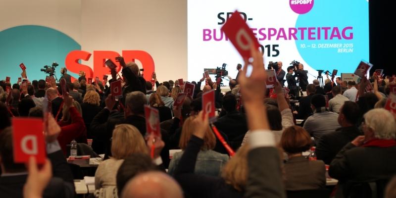 SPD-Bundesparteitag 2015 - Foto: über dts Nachrichtenagentur