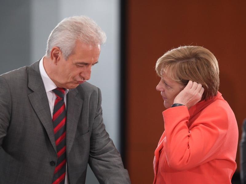 Stanislaw Tillich und Angela Merkel - Foto: über dts Nachrichtenagentur