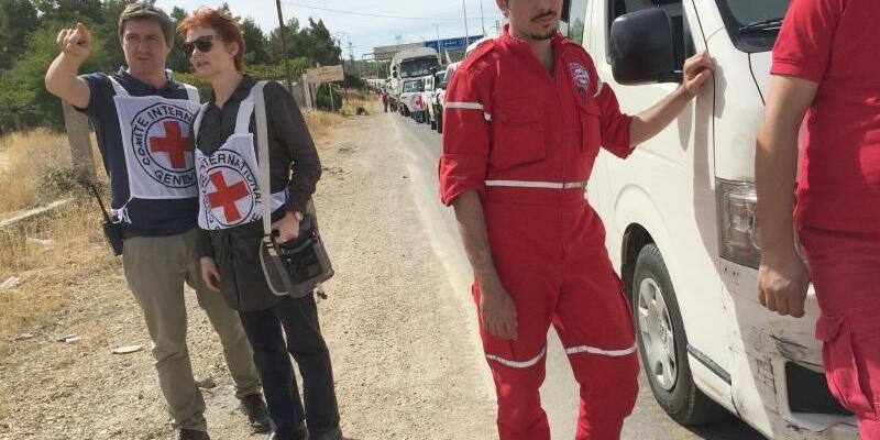 Hilfskonvoi für Madaja - Foto: ICRC/Pawel Krzysiek/dpa/Archiv