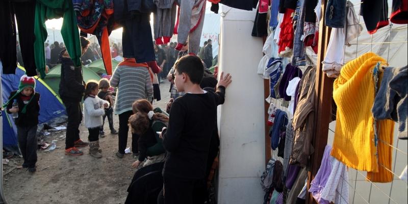 Flüchtlingslager - Foto: über dts Nachrichtenagentur