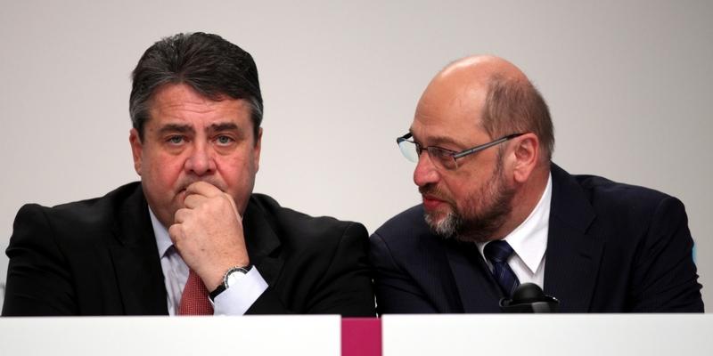 Sigmar Gabriel und Martin Schulz - Foto: über dts Nachrichtenagentur