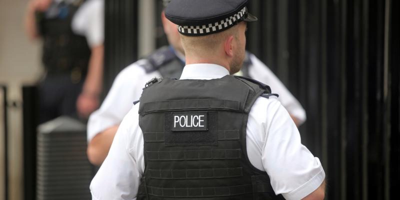 Britische Polizisten - Foto: über dts Nachrichtenagentur
