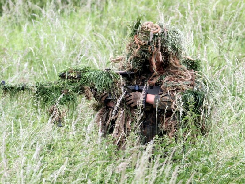 Getarnter Soldat - Foto: über dts Nachrichtenagentur