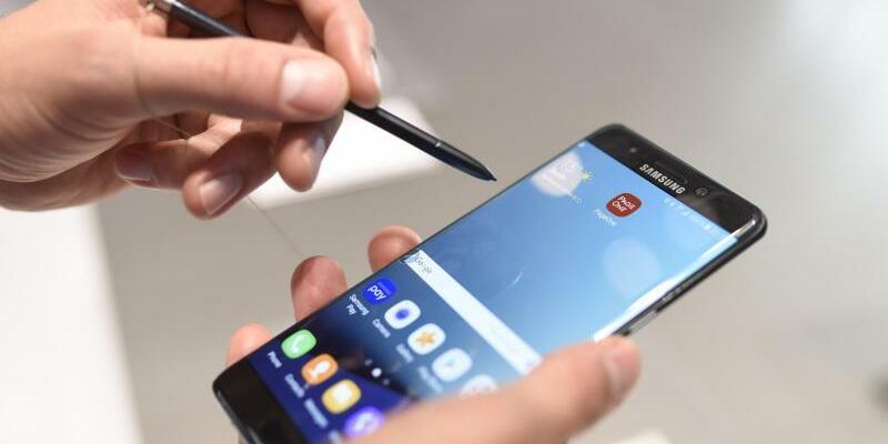 Samsung Galaxy Note 7 - Foto: Jannis Mattar