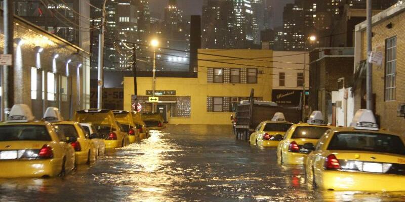 Hurrikan Sandy - Foto: Xinhua/Wang Chengyun/Archiv