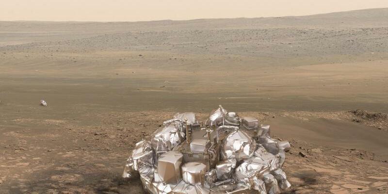 Landung des Moduls Schiaparelli auf dem Mars - Foto: ESA ATG-medialab