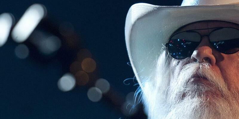 Leon Russell - Foto: Sein letztes Konzert gab Leon Russell im Juli in Nashville. Foto:Dominic Favre