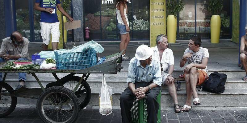 Athen - Foto: Athen muss weiter sparen und reformieren. Foto:Alkis Konstantinidis
