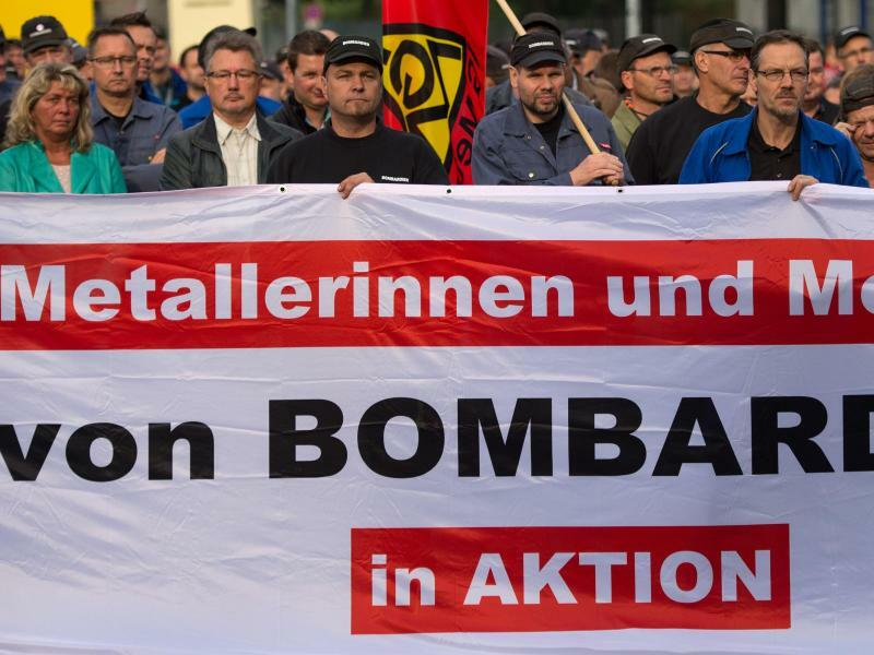 Bombardier in Görlitz - Foto: Arno Burgi/Archiv