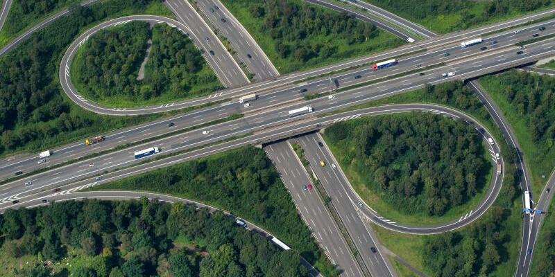 Autobahnkreuz - Foto: Matthias Balk