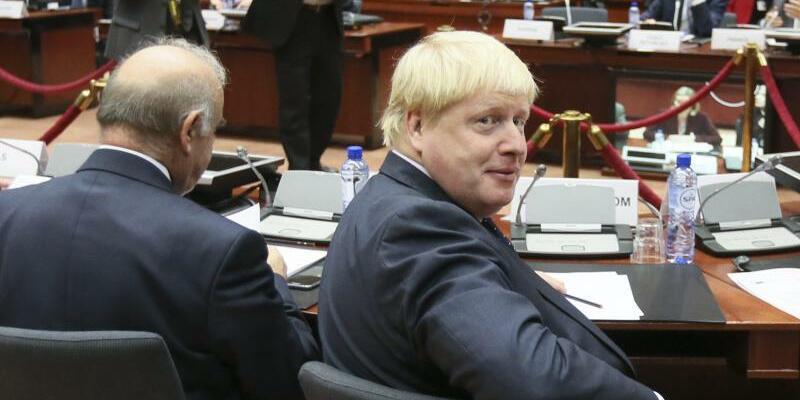 Boris Johnson - Foto: Olivier Hoslet