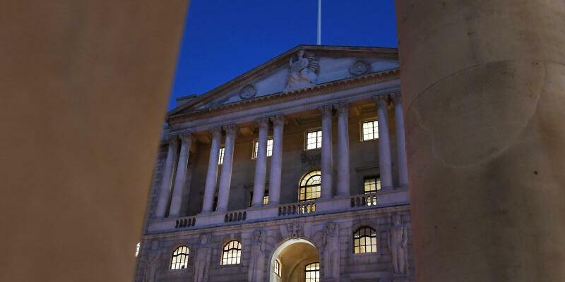 Bank of England - Foto: Im Stressszenario spielte die Notenbank heftige wirtschaftliche Schocks und die Folgen für die Bankbilanzen durch. Foto:Andy Rain