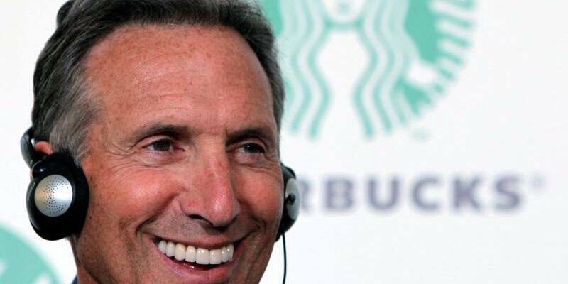 Starbucks-Chef - Foto: Howard Schultz ist seit 1982 für Starbucks tätig und gilt als Schlüsselfigur der rapiden Expansion der vergangenen Jahre. Foto:Mauricio Duenas Castaneda