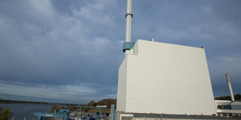 AKW Krümmel - Foto: Das Kernkraftwerk Krümmel in Geesthacht bei Hamburg. Foto:Christian Charisius