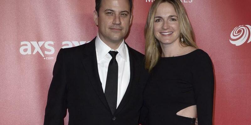 Jimmy Kimmel + Frau - Foto: Paul Buck