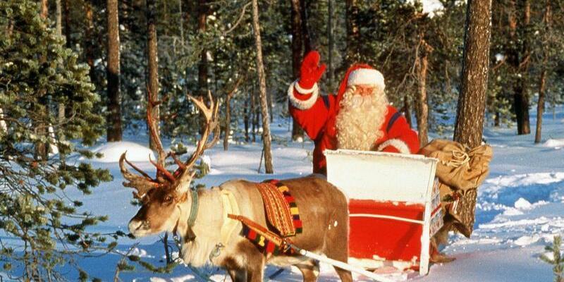 Weihnachtsmann - Foto: Lehtikuva Oy
