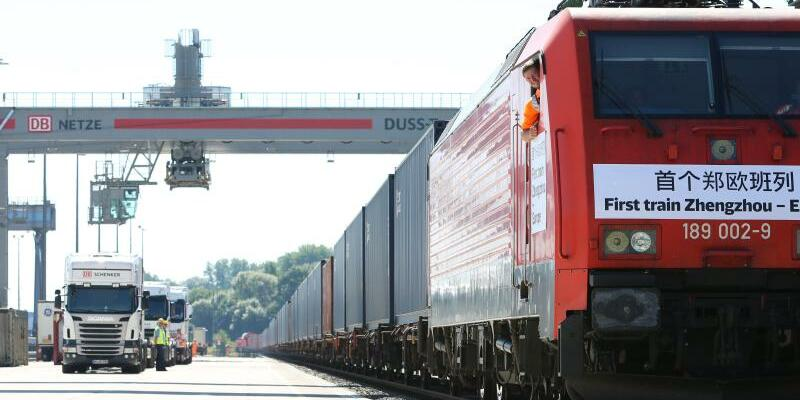 China - Foto: Eine Güterzugverbindung zwischen Zhengzhou und Hamburg besteht bereits seit August 2013. Foto:Christian Charisius