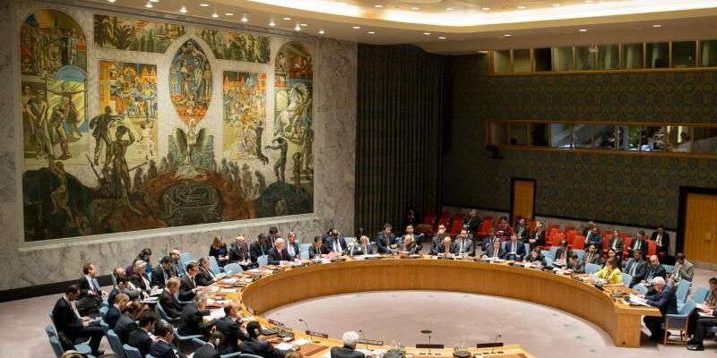 UN-Sicherheitsrat - Foto: Kay Nietfeld/Archiv