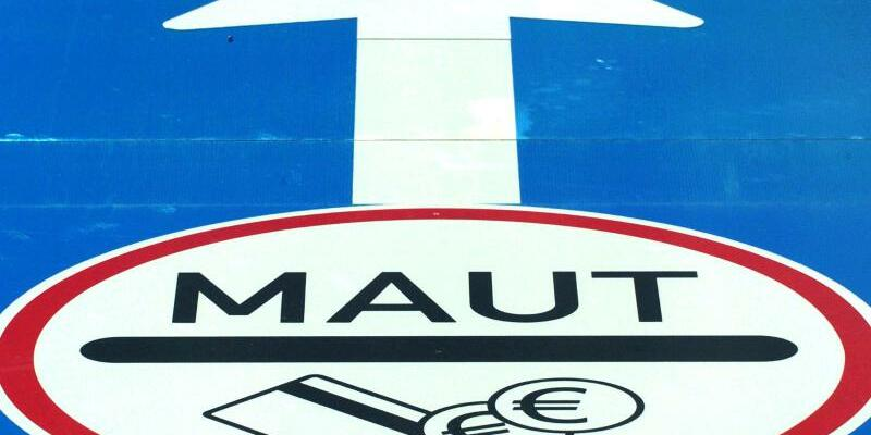 Maut-Schild - Foto: Bernd Wüstneck