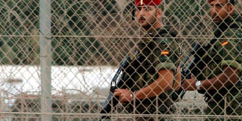 Militärpatrouille - Foto: Rafael Diaz/Archiv